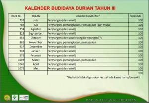 Pemupukan Durian 3
