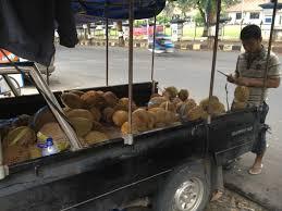 penjual durian